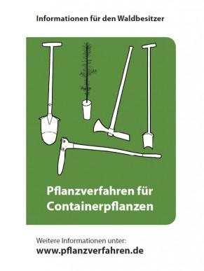 Broschüre: Pflanzverfahren für Containerpflanzen